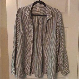 Gap striped oxford shirt